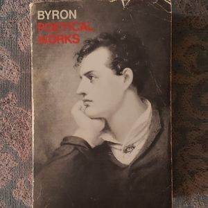 Byron Poetical Works - Vintage
